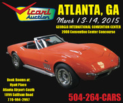 Vicari Collector Car Auction -Atlanta, GA