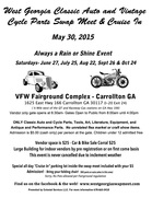 West GA Classic Auto & Vintage Cycle Parts Swap Meet -Carrollton, GA