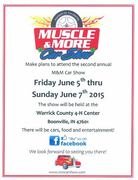 Muscle & More Open Car Show -Boonville, IN