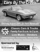 14th Annual Cars by the Creek at Orr Park, Montevallo, AL. 35115