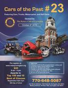 POSTPONED to October 18th Cars of the Past Covington Car Show -Covington, GA