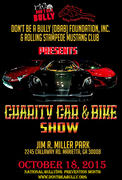 Don't Be A Bully Foundation & Rolling Stampede Mustang Club 1st Charity Car & Bike Show -Marietta, GA