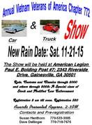 Annual Vietnam Veterans of America Chapter 772 Car Show -Gainesville, GA