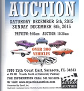 Classic Car Auction -Sarasota, FL
