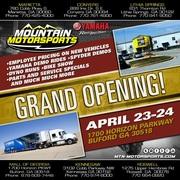 Mountain Motorsports Mall of GA Grand Opening -Buford, GA