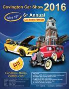 6th Annual Covington Car Show -Covington, GA