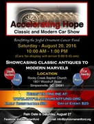 Accelerating Hope Classic and Modern Car Show -Simpsonville, SC