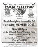William F. Green Veteran's Home Annual Car Show, Bay Minette, Alabama