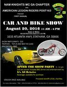 CAR & MOTORCYCLE SHOW - Statham, GA