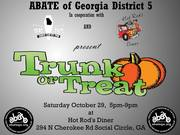 """Hot Rod's Diner, """"Trunk or Treat"""" Cruise-In, Social Circle, Ga"""