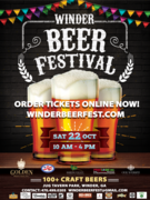 COLLECTOR CARS WANTED FOR DISPLAY - Winder Beer Festival - Winder, GA