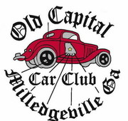 Old Capital Car Club Monthly Meeting -Milledgeville, GA