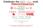 Gateway Classic Car Christmas Party: TOYS FOR TOTS -Chicago, IL