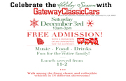 Gateway Classic Cars Christmas Party: TOYS FOR TOTS -Alpharetta, GA