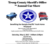 Troup County Sheriff's Office 8th Annual Car Show