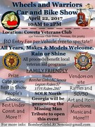3rd Annual Wheels & Warriors Car & Bike Show