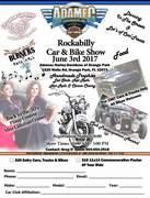 Adamec Rockabilly Pre 1987 car & Bike Show