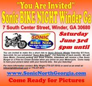 Sonic Bike Night -Winder, GA