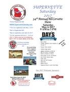 """""""SuperVette Saturday"""" 34th Annual All Corvette Show - Acworth, Georgia"""