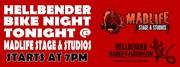 Hellbender Bike Night at MadLife Stage & Studios