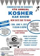 Kosher Kar Show -Sandy Springs Ga