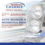 Auto Reunion & Motorcycle Show -Matthews, NC