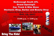 McDonough South ATL, Grand opening car, truck & bike show