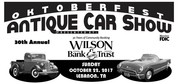 Oktoberfest Antique Car Show Lebanon, TN