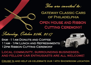 Gateway Classic Cars Open House & Ribbon Cutting West Deptford, NJ