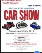 Mt. Zion Eagle Band Car Show 2018 Carrollton Ga
