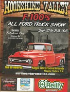 Moonshine Valley F-100's all Ford truck show