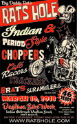 Indian and Period Style Choppers and More
