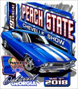 19th Annual Peach State Chevelle Show, Oakwood, GA