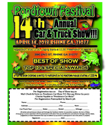 Pondtown Festival 14th Car/Truck Show
