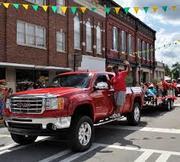73rd annual pine tree festival car and truck show-Swainsboro, GA