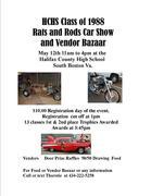 Rats & Rods Car Show and Vendor Bazaar, South Boston VA
