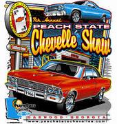9th Annual Peach State Chevelle Show-Oakwood, GA
