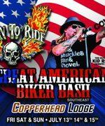 GREAT AMERICAN BIKER BASH -Blairsville, GA