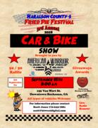 Fried Pie Fest Car and Bike Show, Buchanan GA