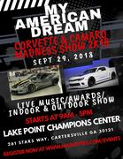 My American Dream Car Show in Cartersville GA