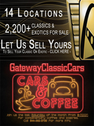 Christmas at Gateway Classic Cars in Alpharetta, Ga