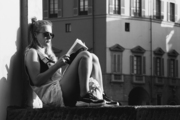 Lettura sull'Arno