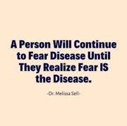 Fear is Disease