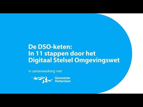 De DSO-keten: in 11 stappen door het Digitaal Stelsel Omgevingswet