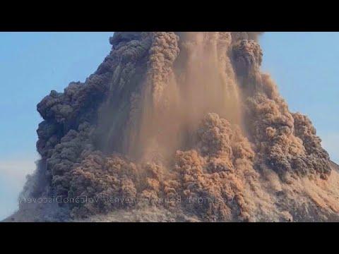 أقوى انفجار بركاني في 2021! ثوران بركاني ضخم مذهل لجبل أسو في كوماموتو ، كيوشو باليابان!