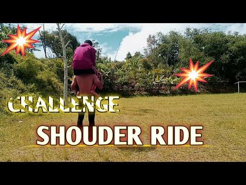 "Viral""Challenge shoulder ride bikin ngakak 2021"