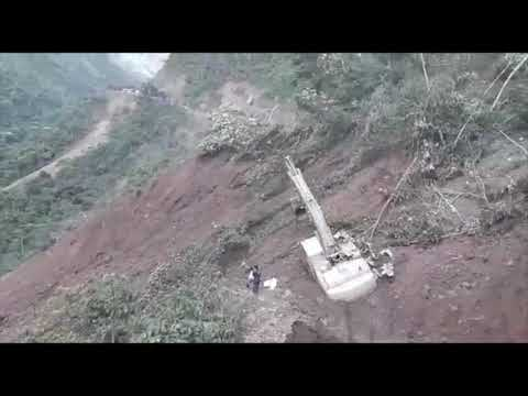 People SWEPT by Bolivia mudslide