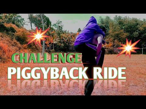 Piggyback Ride Challenge Bikin Ngakak 2021