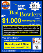 Best Buy Bad Bowlers League.