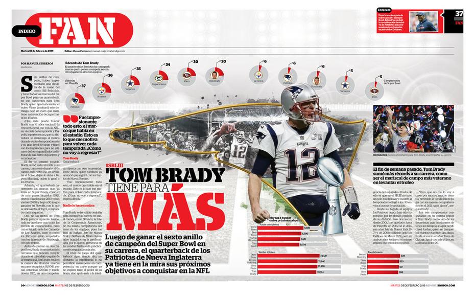 Tom Brady tiene para más